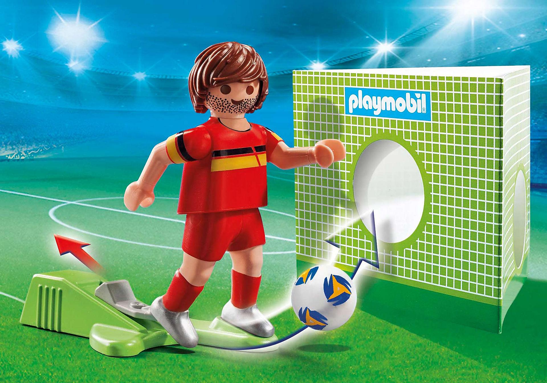 70483 Belgisk fotbollsspelare zoom image1