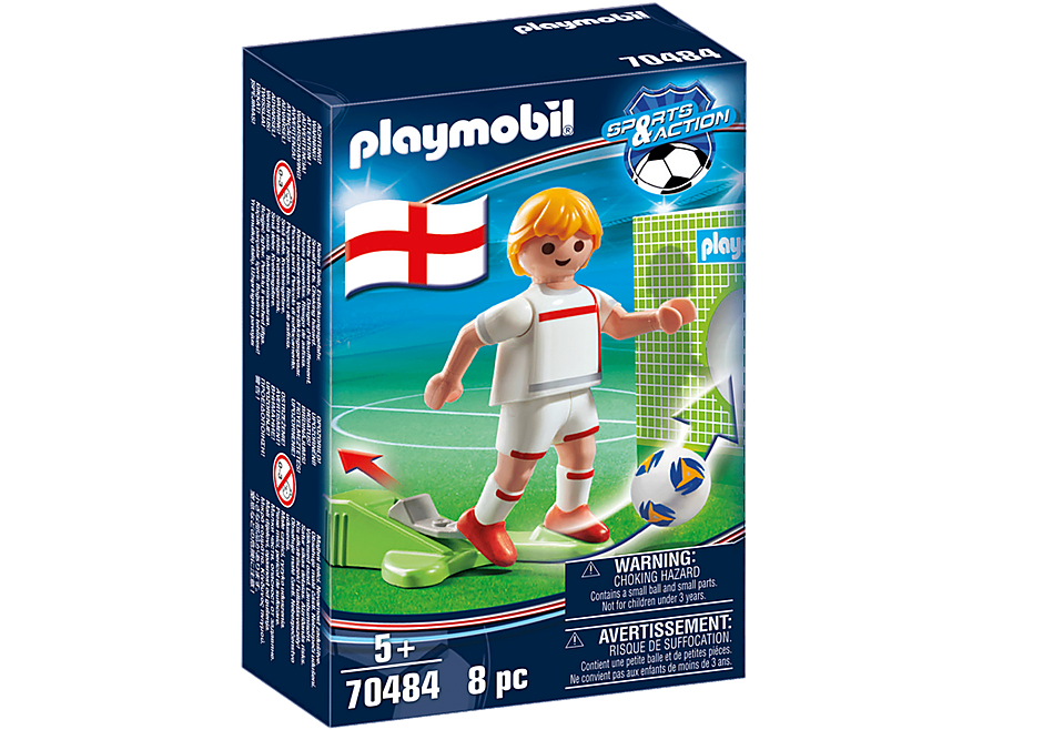 70484 Soccer Player England detail image 2