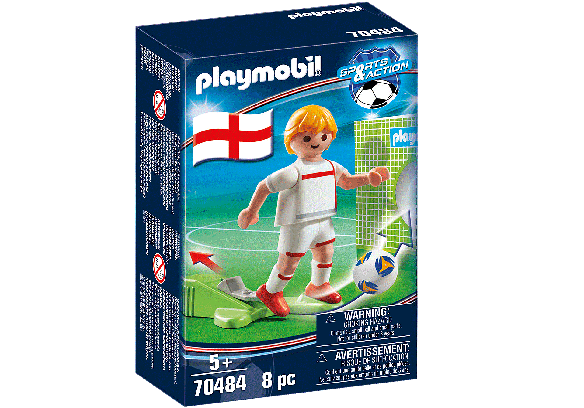 70484 Soccer Player England zoom image2