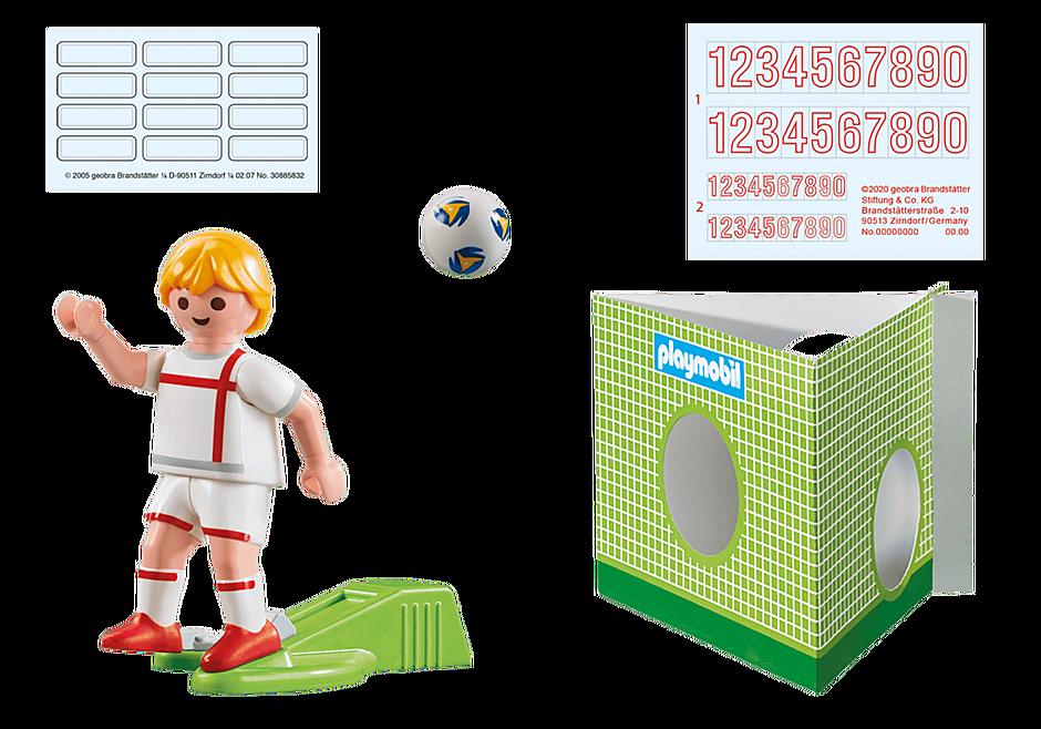 70484 Voetbalspeler Engeland detail image 2