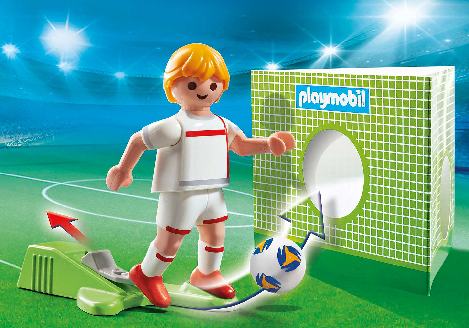 70484 Soccer Player England zoom image1