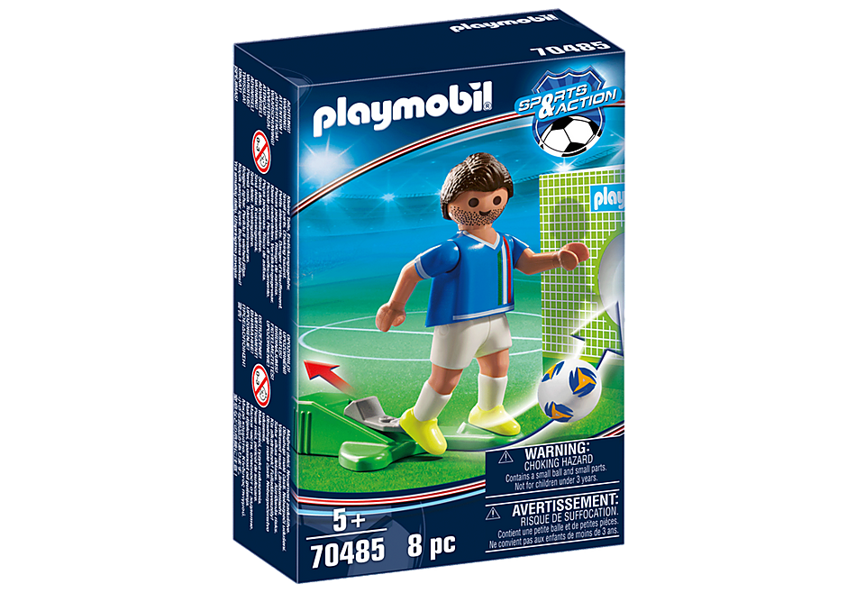 70485 Jugador de Fútbol - Italia detail image 2