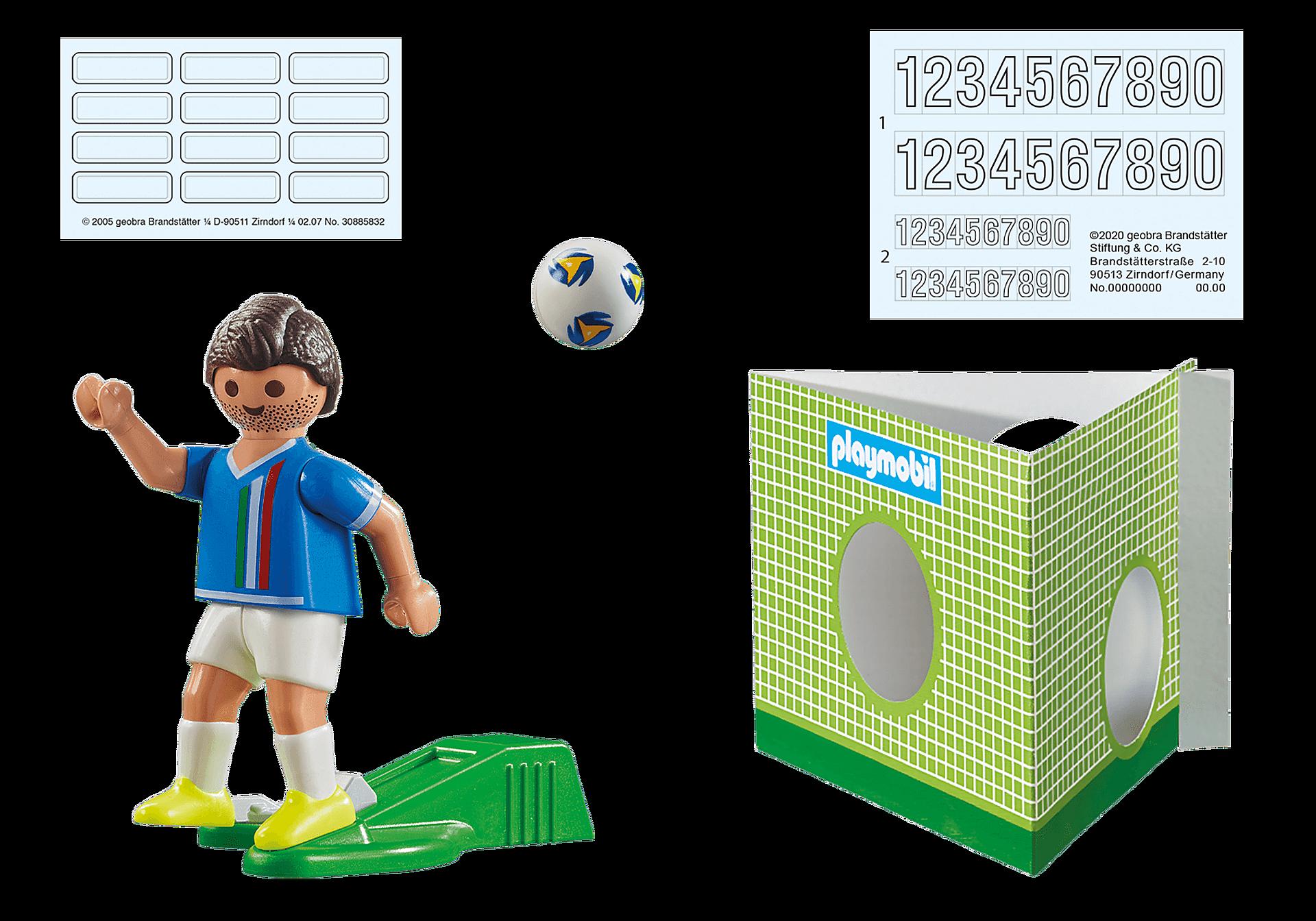 70485 Italiensk fotbollsspelare zoom image3
