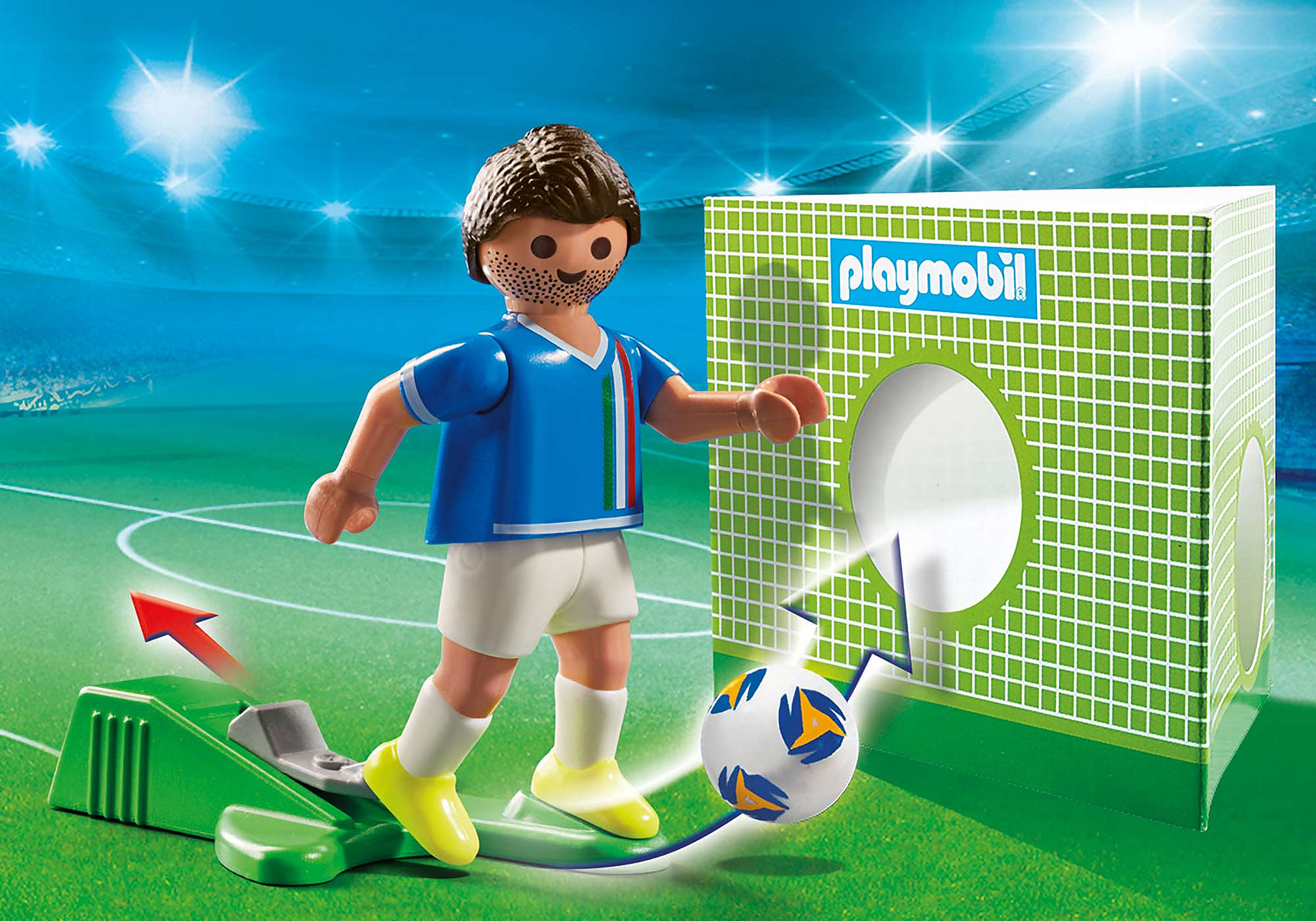 70485 Soccer Player Italy  zoom image1