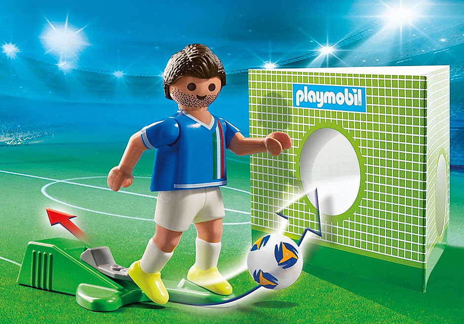 70485 Voetbalspeler Italië detail image 1