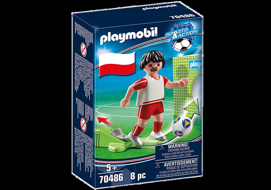 70486 Jugador de Fútbol - Polonia detail image 3