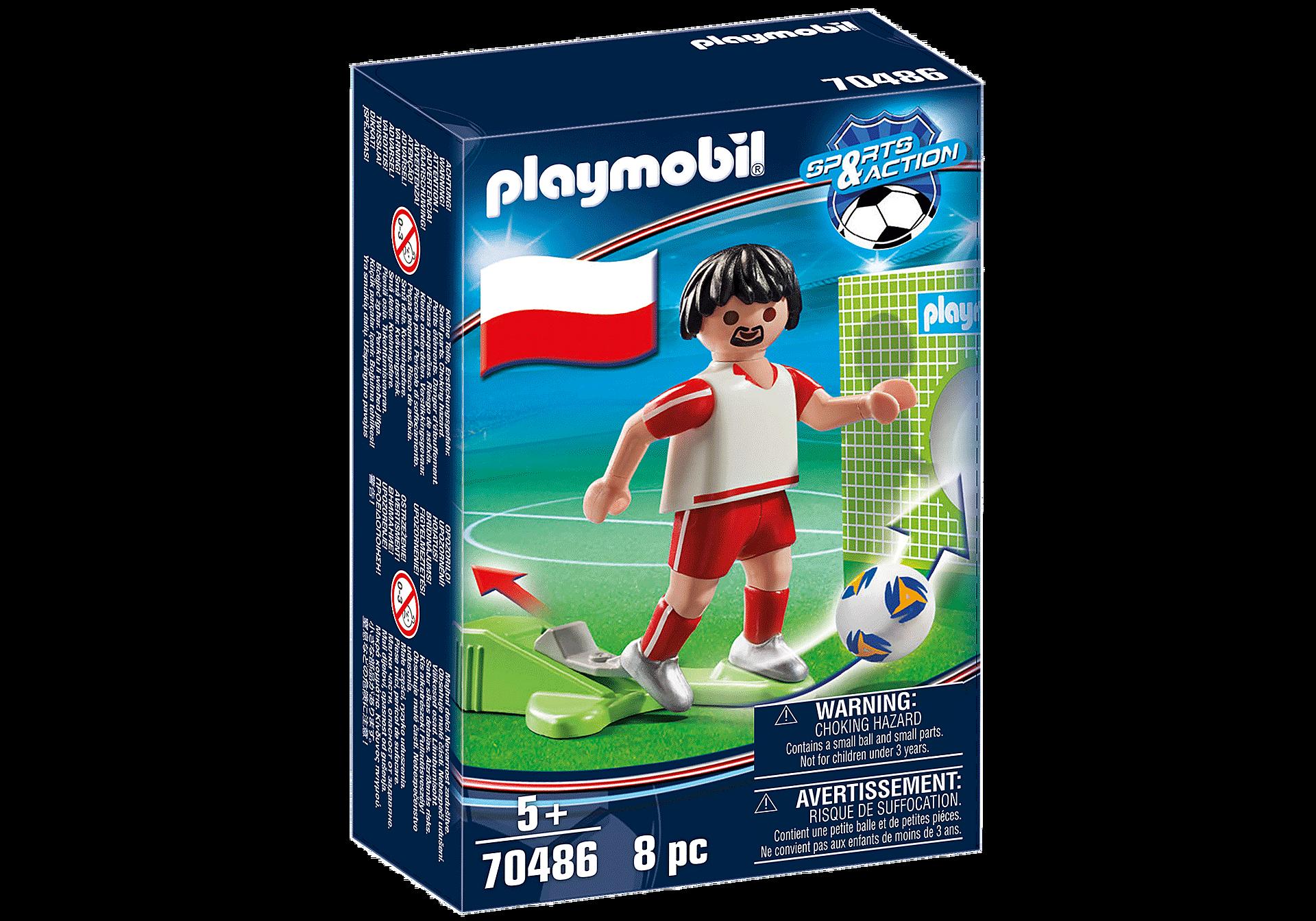 70486 Jugador de Futebol - Polônia zoom image2
