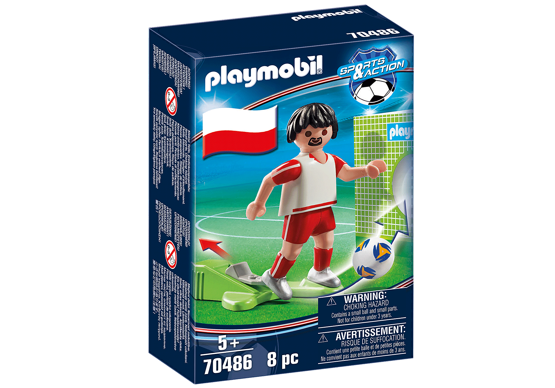 70486 Solccer Player Poland zoom image2