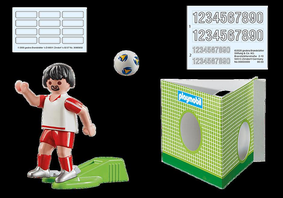 70486 Voetbalspeler Polen detail image 3
