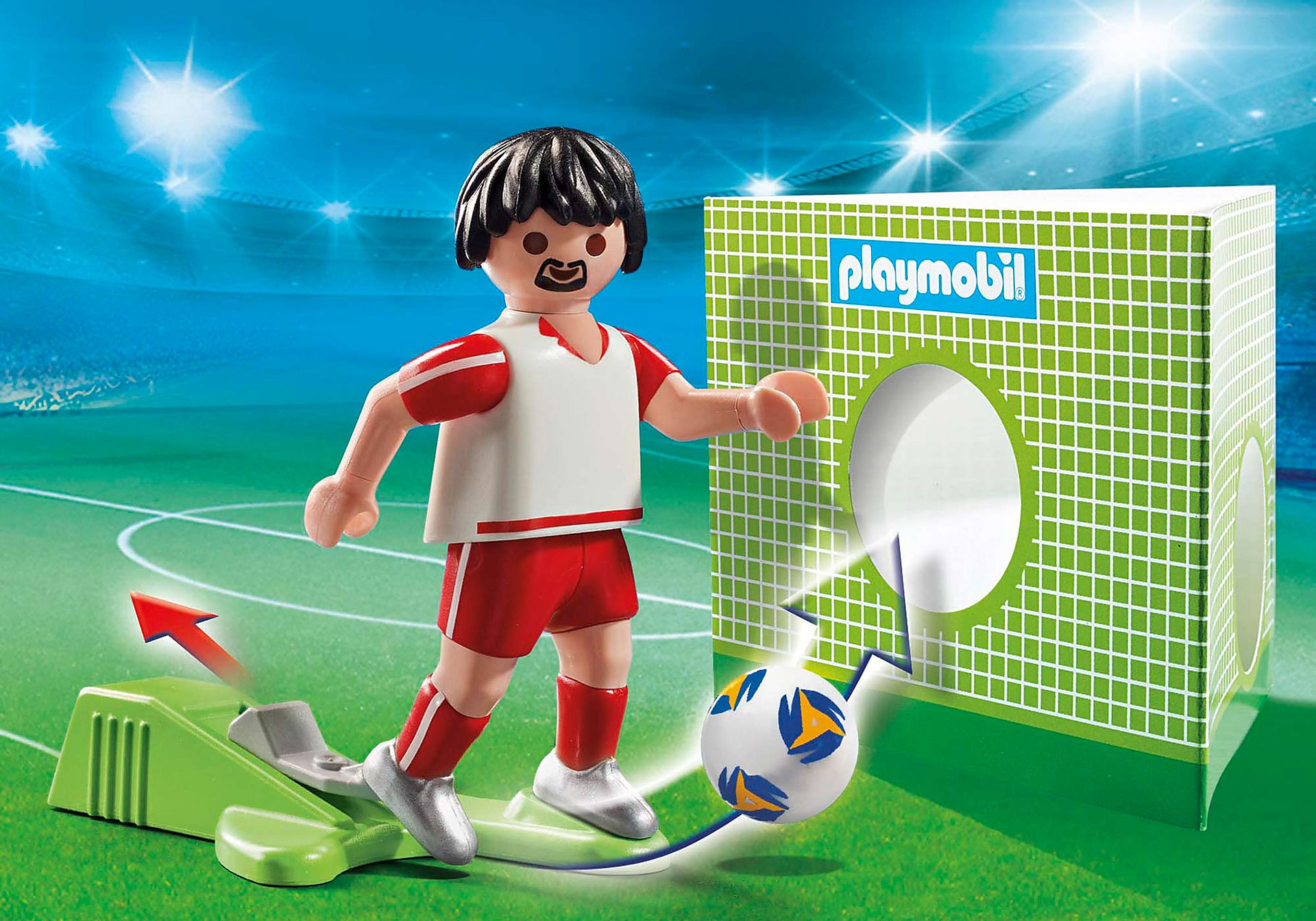 70486 Jugador de Fútbol - Polonia zoom image1