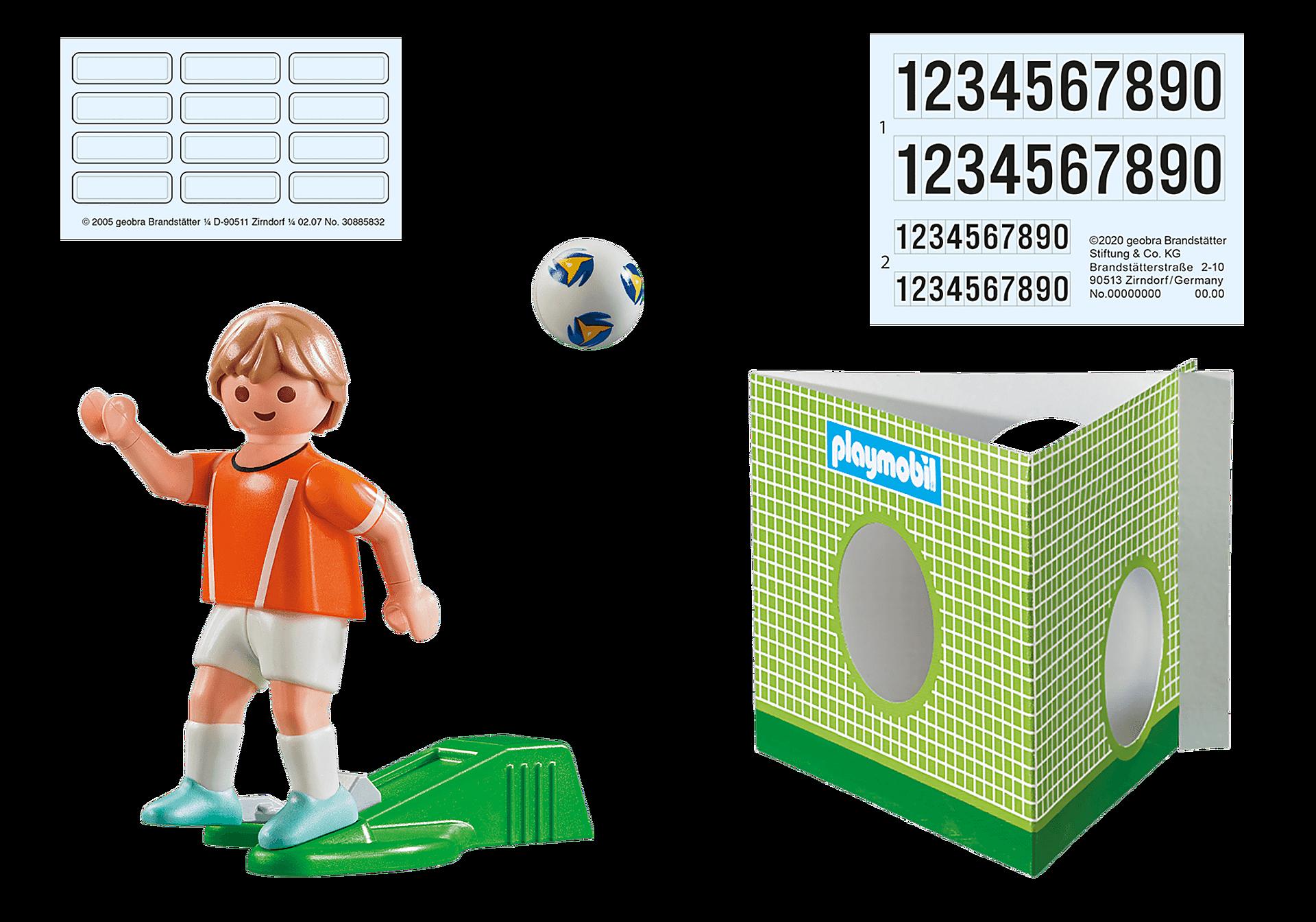 70487 Jugador de Fútbol - Holanda zoom image3