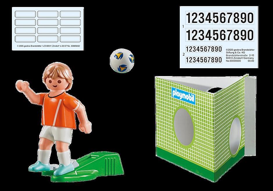 70487 Nederländsk fotbollsspelare  detail image 3