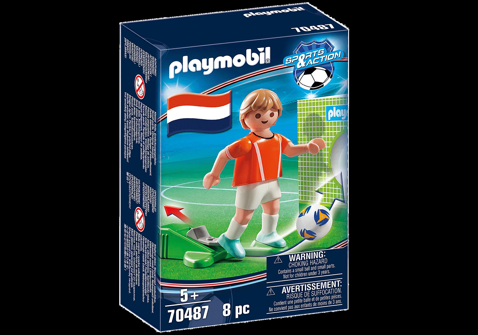 70487 Jugador de Fútbol - Holanda zoom image2