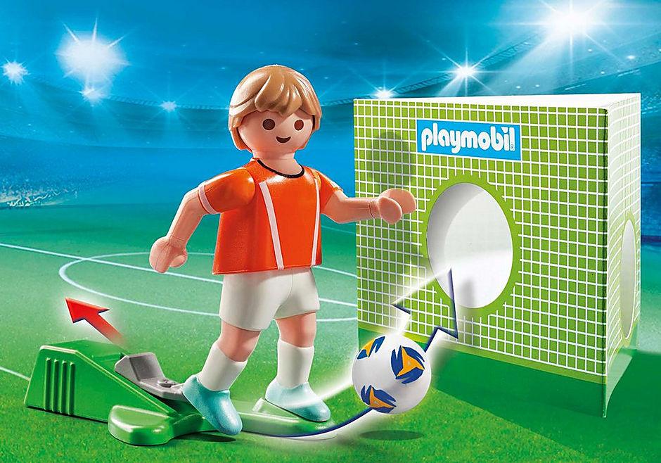 70487 Nederländsk fotbollsspelare  detail image 1