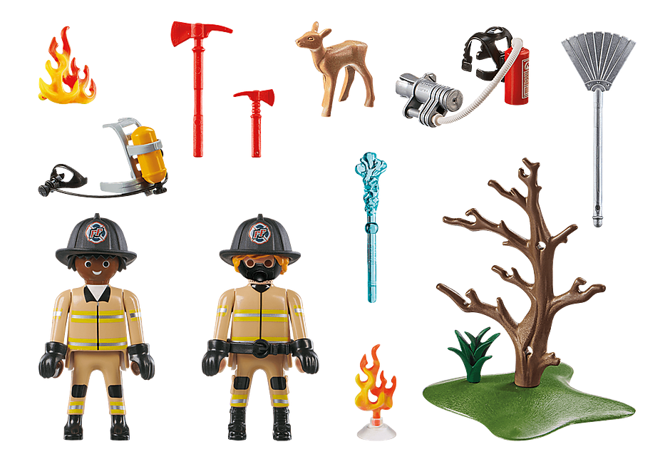 70488 Forest Fire Squad detail image 3