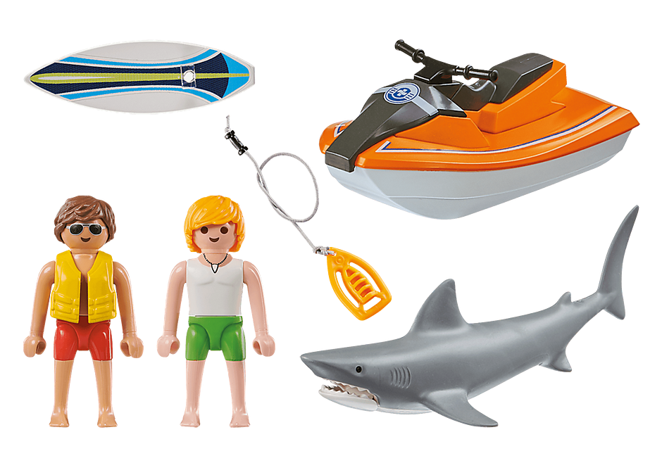 70489 Shark Attack Rescue detail image 3