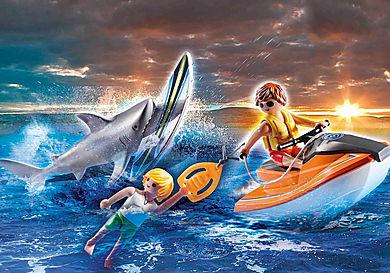 70489 Shark Attack Rescue