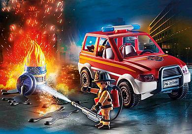 70490 City Fire Emergency