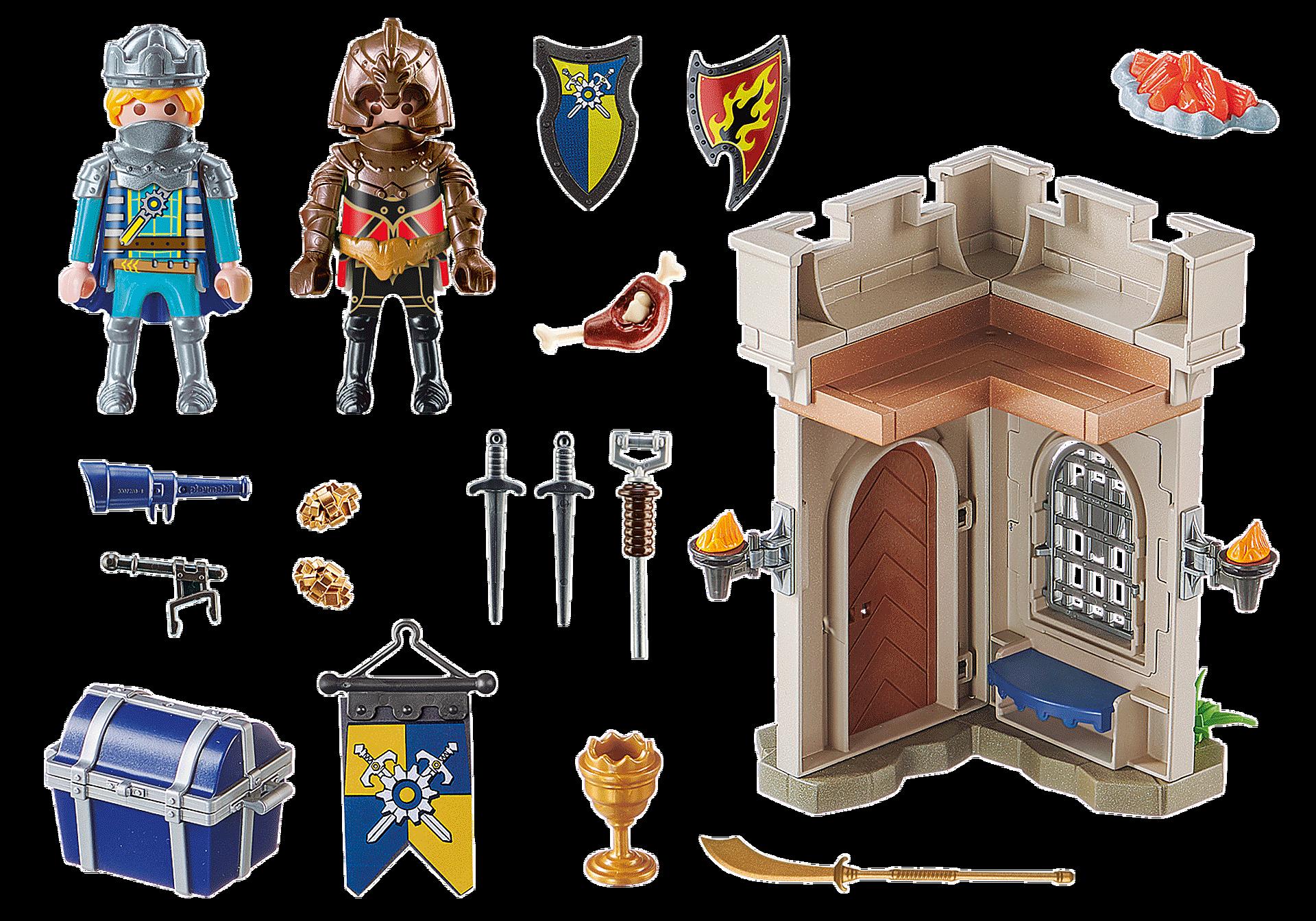 70499 Starter Pack Novelmore Knights' Fortress zoom image3
