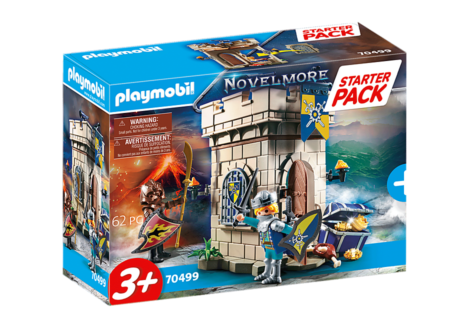 70499 Starter Pack Novelmore Knights' Fortress  detail image 2