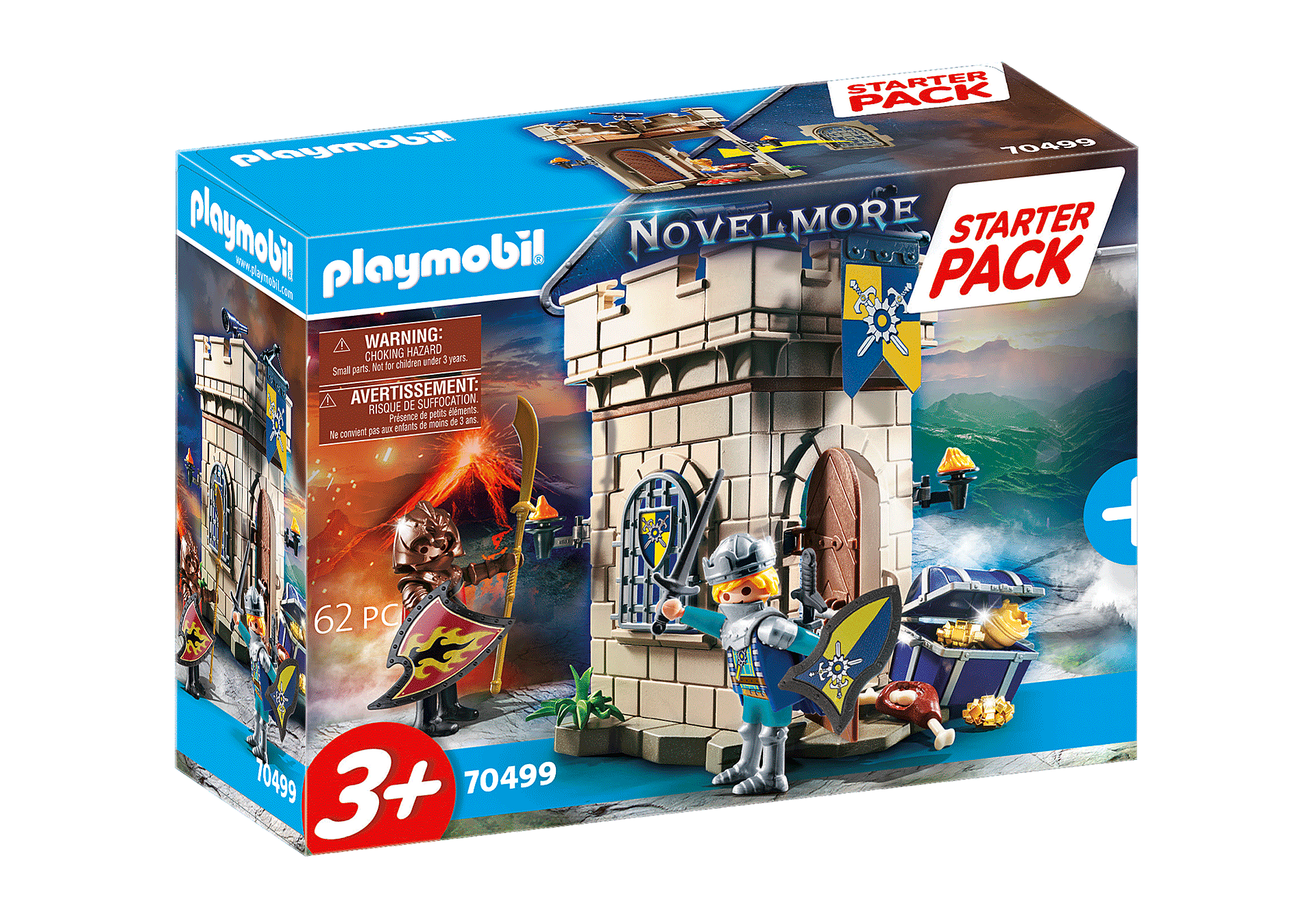70499 Starter Pack Novelmore Knights' Fortress  zoom image2