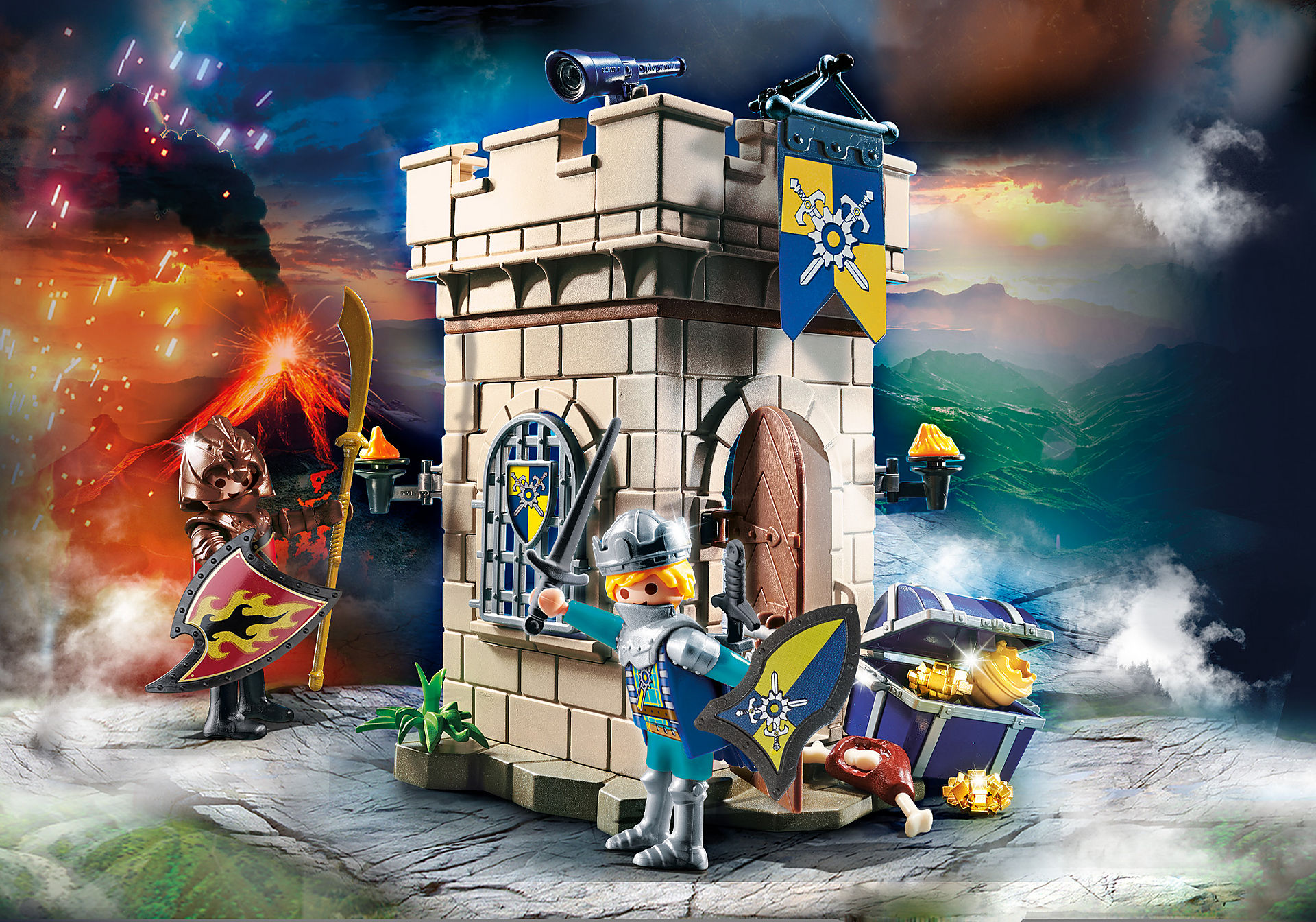 70499 Starter Pack Novelmore Knights' Fortress  zoom image1