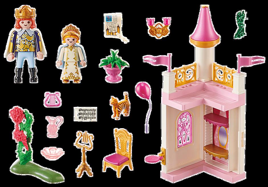 70500 Starter Pack Princess Castle detail image 3