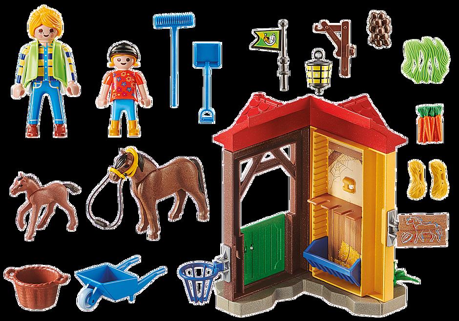 70501 Starter Pack Box et poneys  detail image 3