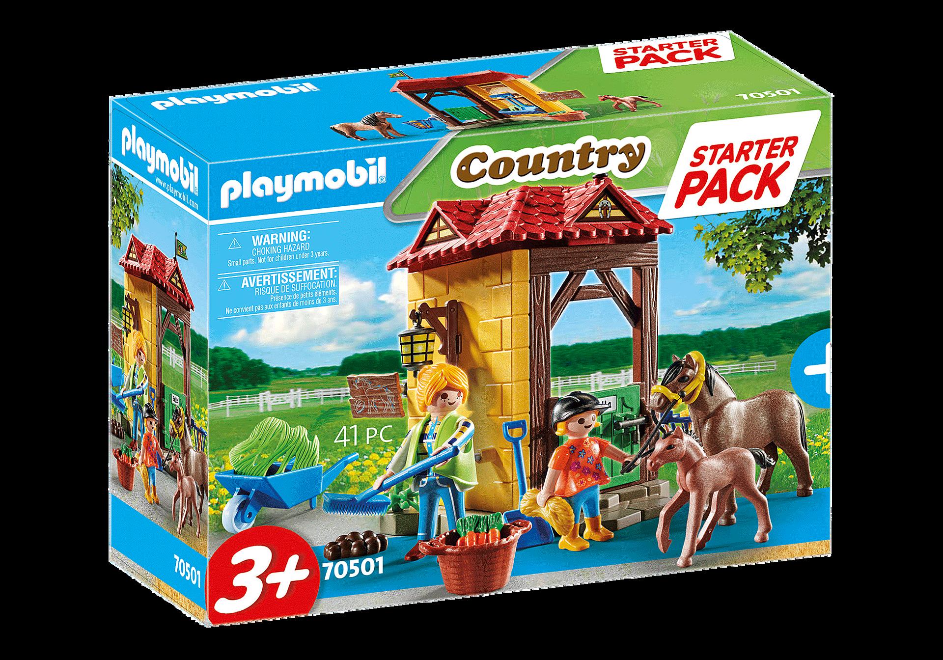 70501 Starter Pack Box et poneys  zoom image2