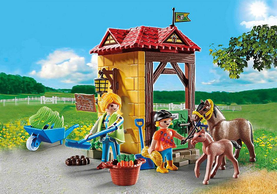70501 Starter Pack Box et poneys  detail image 1