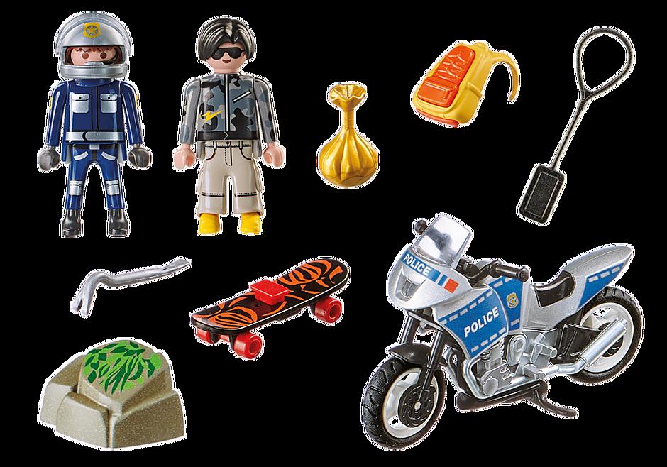 70502 Aloituspakkaus Poliisin täydennyssetti detail image 3