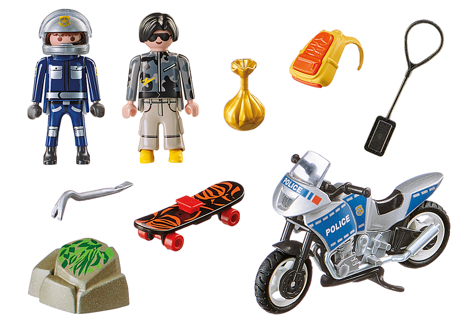 70502 Starter Pack Policía set adicional detail image 3