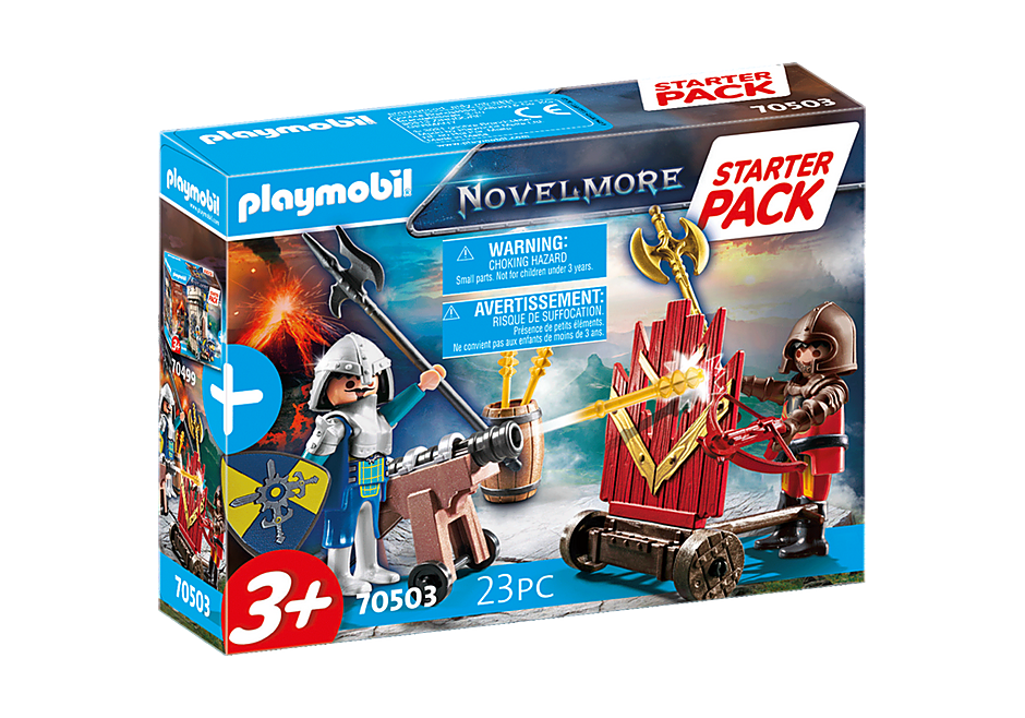 70503 Starter Pack Novelmore Knights' Duel detail image 2