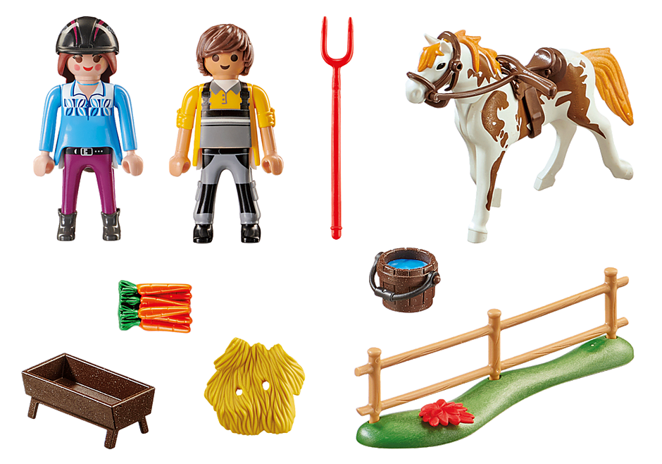 70505 Starter Pack Horseback Riding detail image 3