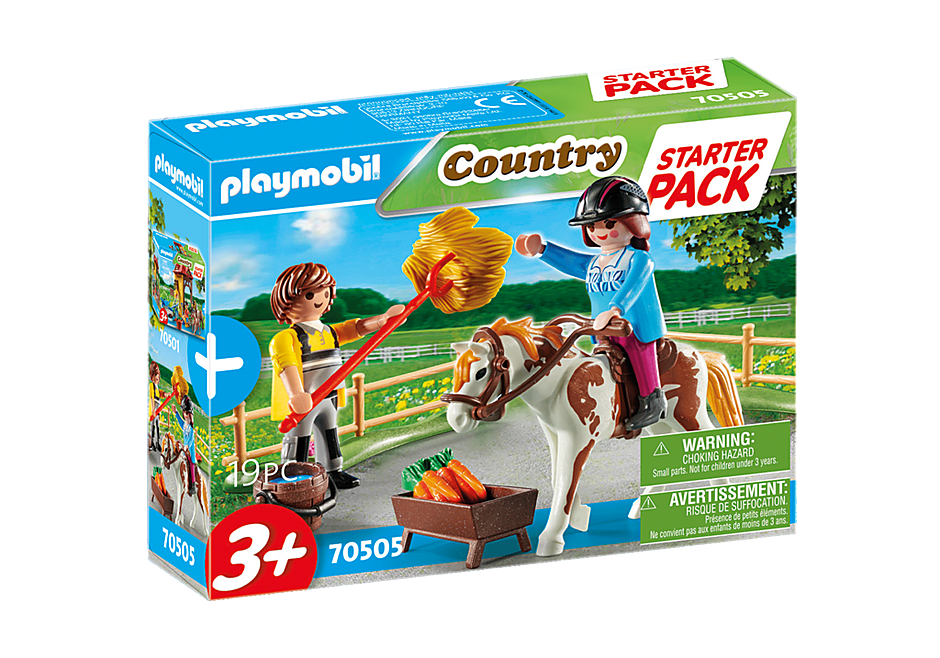 70505 Starter Pack Horseback Riding detail image 2