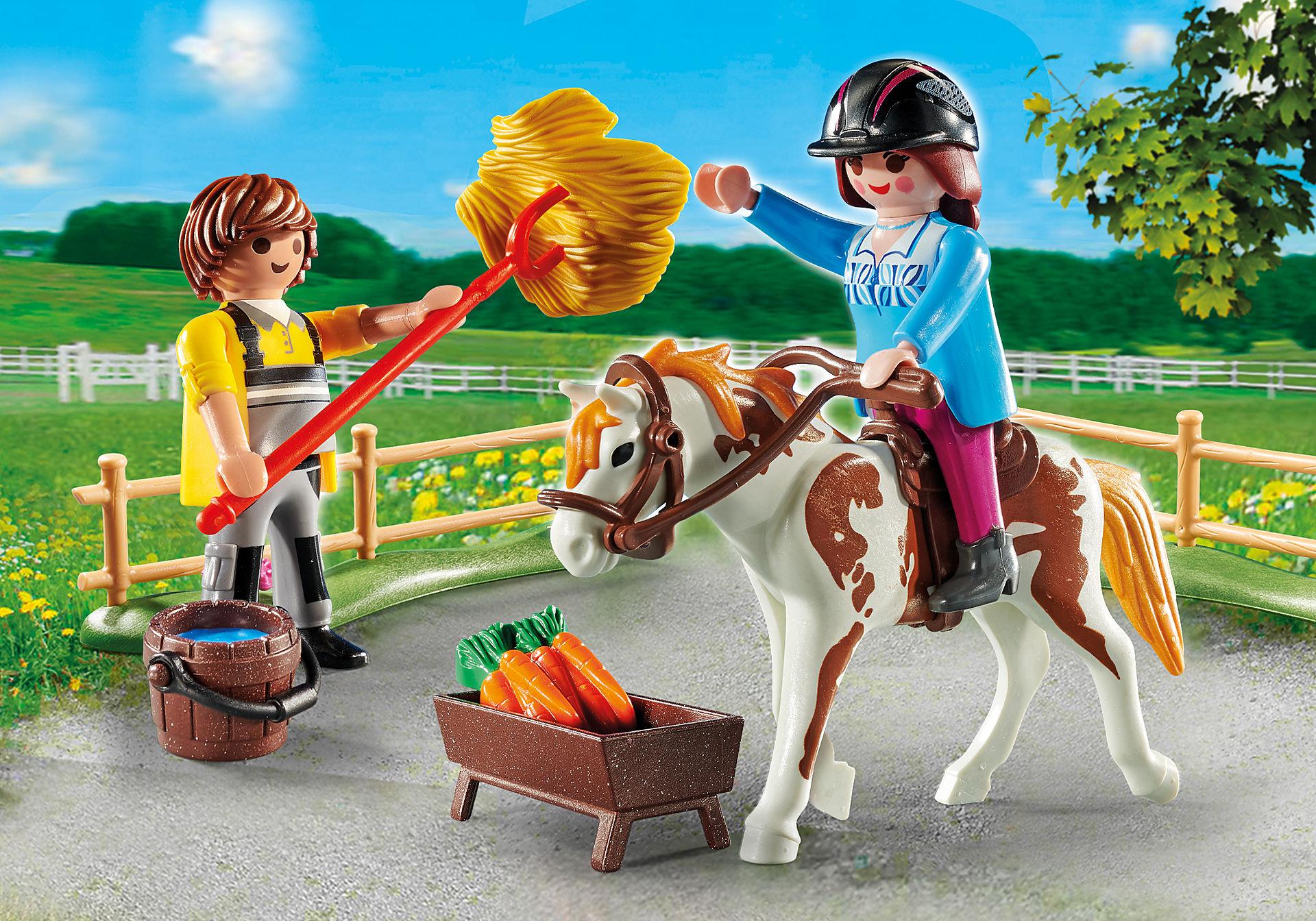 70505 Starter Pack Quinta de Cavalos set adicional zoom image1