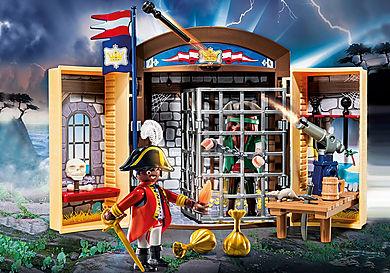 70506 Play Box 'Avamposto della Marina con pirata'