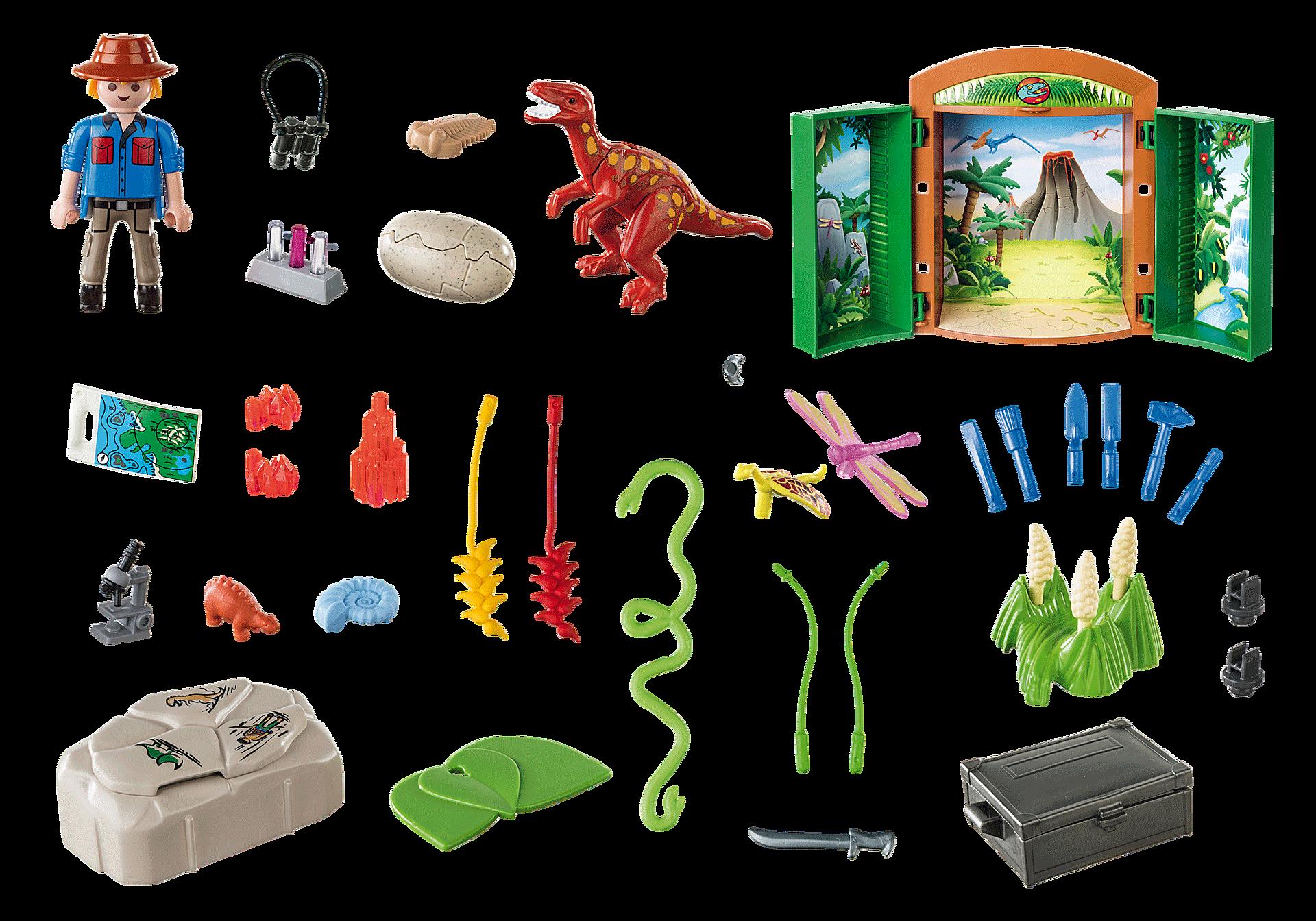 70507 Play Box 'Archeologo con uovo di dinosauro' zoom image3