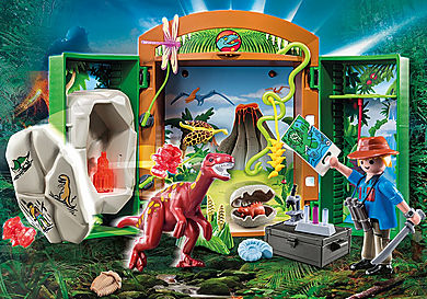 "70507 Play Box ""Explorateur et dinosaure"""