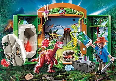 70507 Play Box 'Archeologo con uovo di dinosauro'
