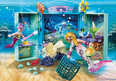 70509 Magical Mermaid Play Box