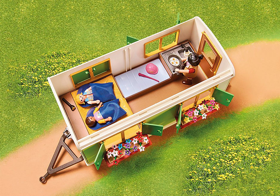 70510 Pony Shelter with Mobile Home detail image 4