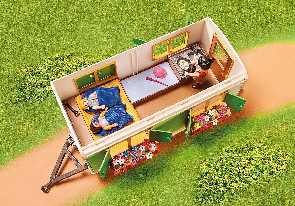 70510 Ponycamp overnatningsvogn detail image 4