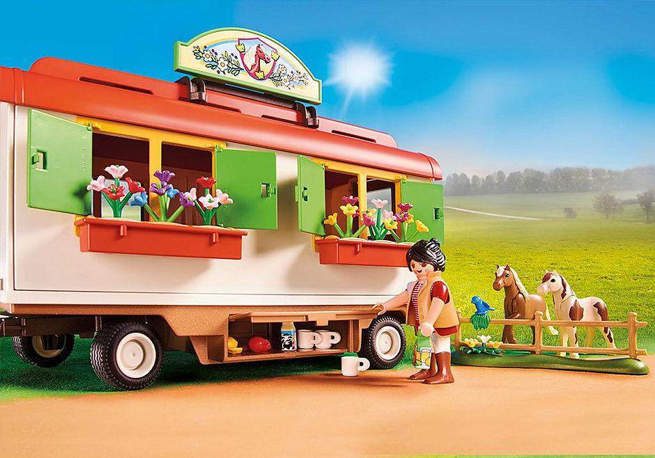 70510 Box de poneys et roulotte  detail image 5