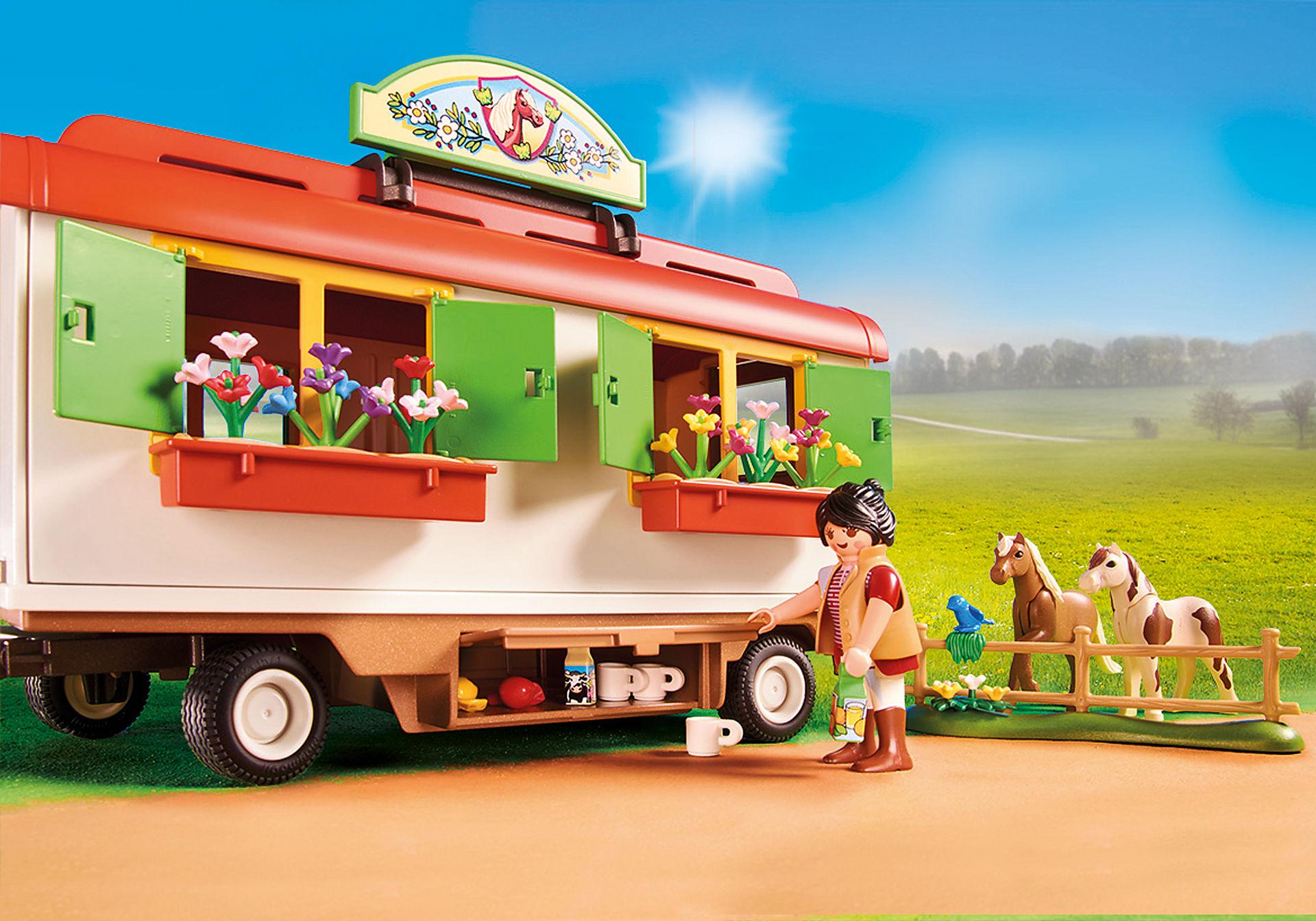 70510 Box de poneys et roulotte  zoom image5
