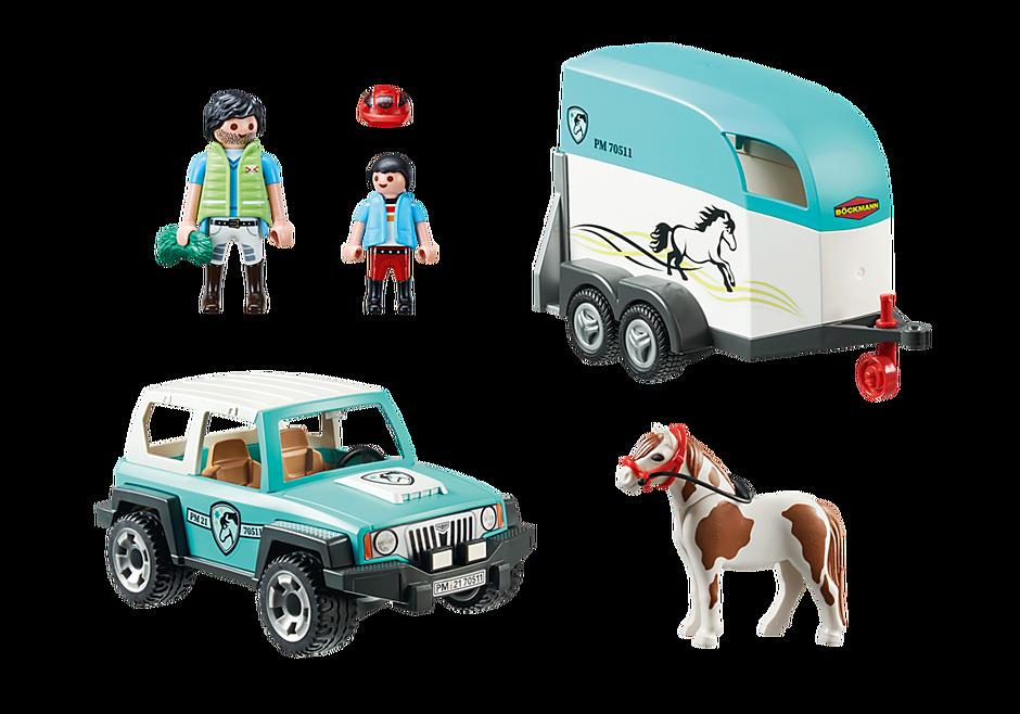 70511 Voiture et van pour poney  detail image 3