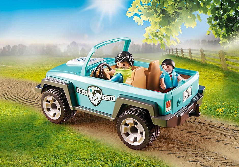 70511 Lastbil med ponyanhænger detail image 5