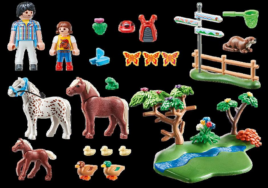 70512 Randonneurs et animaux detail image 3