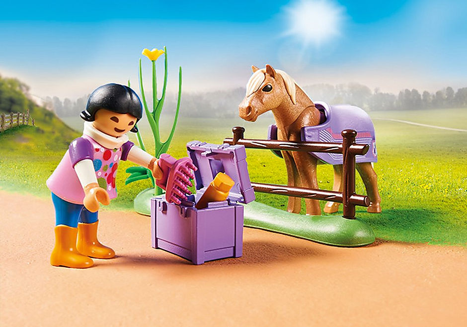 70514 Collectible Icelandic Pony  detail image 4