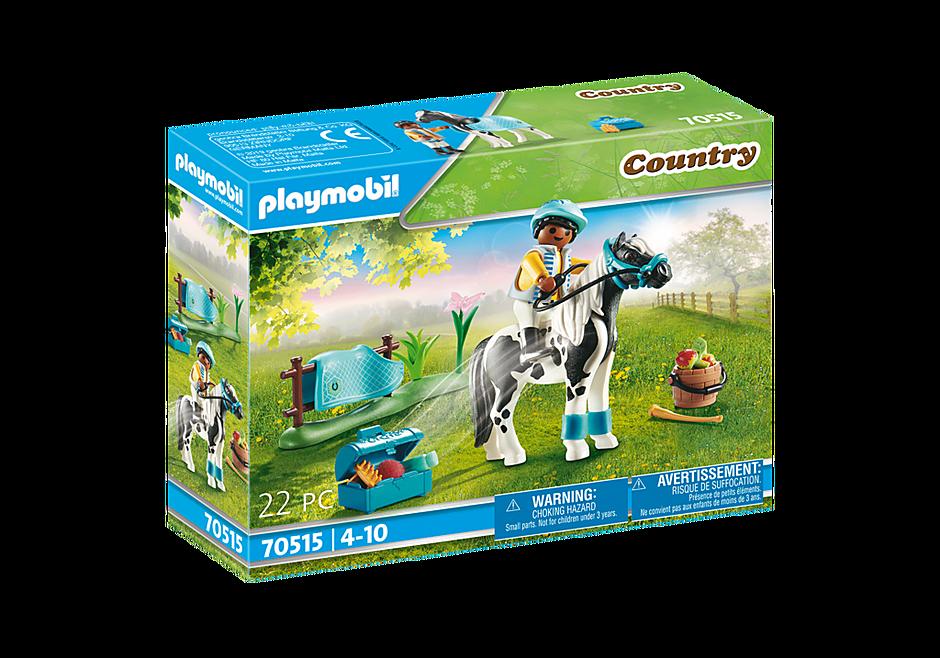 70515 Cavalier  et poney Lewitzer detail image 2